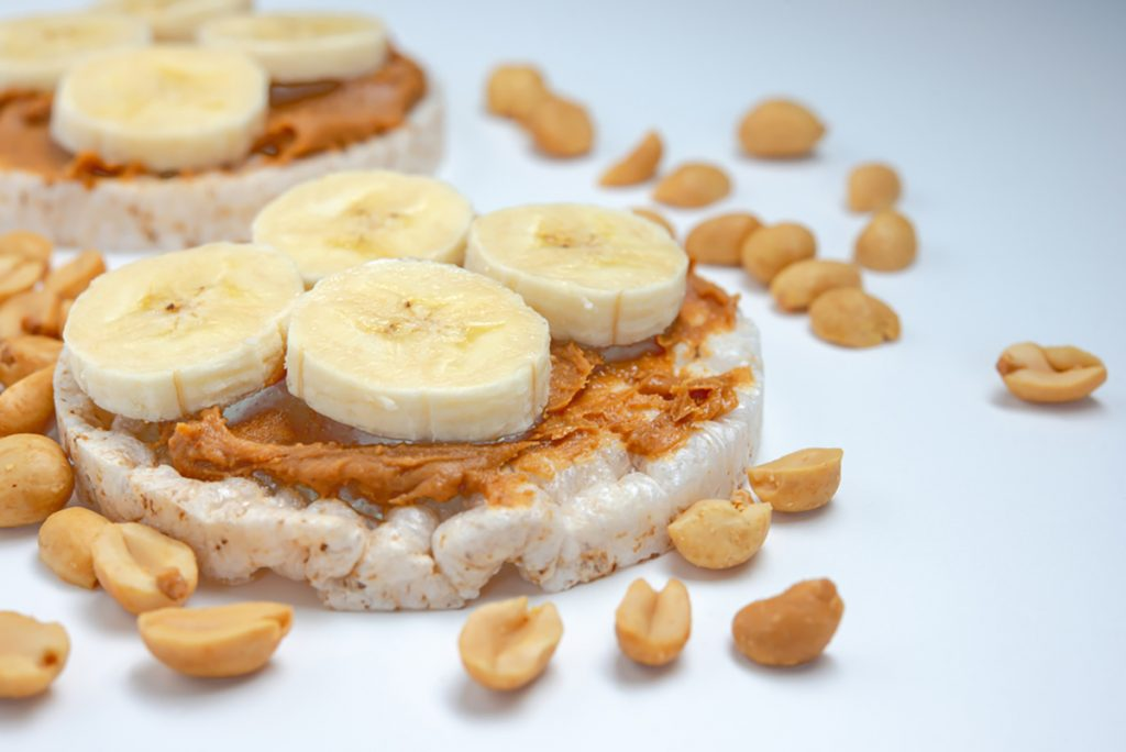 9 Foods To Help You Get A Good Night Sleep | Bananas With Peanut Butter