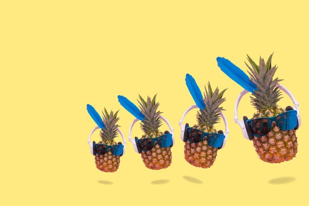 Benefits of Pineapple : Rich in Antioxidants