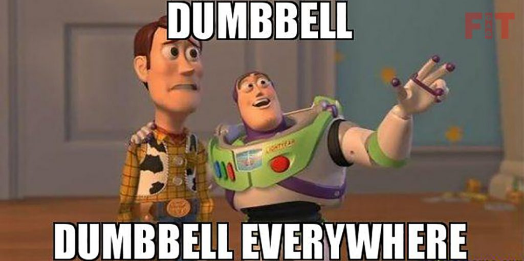 Written And Unwritten Rules Of GYMs For Beginners Unwritten Rule # 7 Rolling Dumbbells