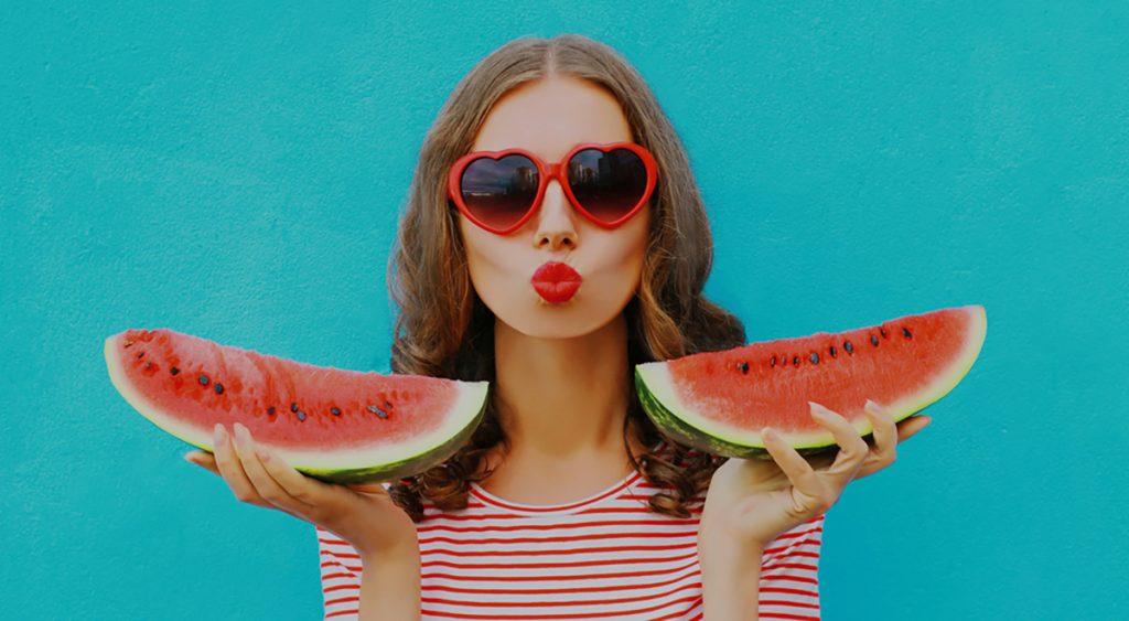 Best Rejuvenating Anti-Aging Foods For Women : WATERMELON